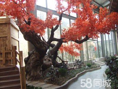 专业制作大塑石:室内外假山、假树、仿木、长廊、凉亭