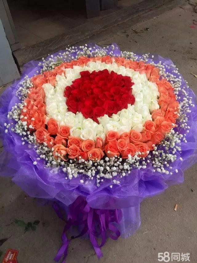 玫瑰花礼盒鲜花节日庆典开业花篮盆景绿植盆栽卡通公仔