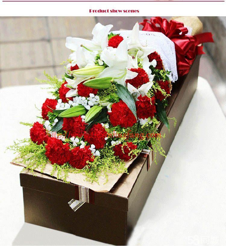 母亲节鲜花低价预定十五家鲜花连锁店覆盖包头免费配送