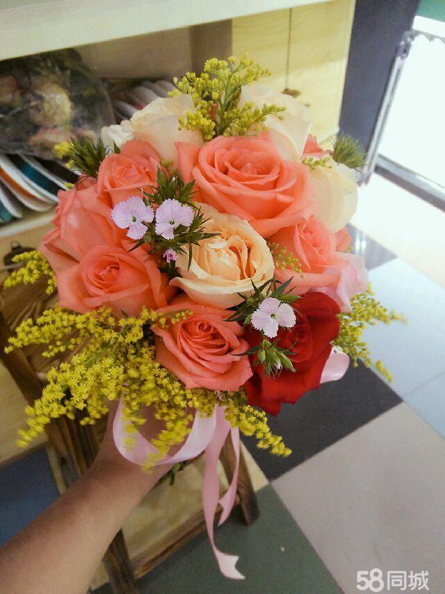 新娘手捧花优惠中咯!