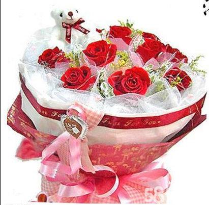 乾县**花材送货上门鲜花预定绿植盆栽玫瑰鲜花预定网