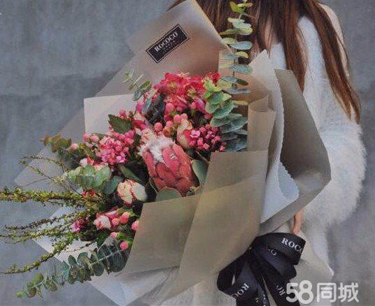 花树花艺 精品花束 母亲节鲜花 私人订制 同城配送